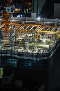 ビルの骨組みのイメージ(建設中)の写真素材 [FYI01250984]