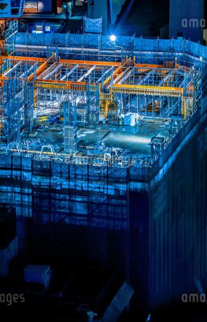 建設中のビルのイメージの写真素材 [FYI01250993]
