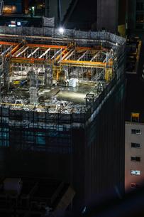 ビルの建築現場のイメージの写真素材 [FYI01250994]