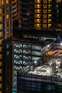 ビルの建築現場のイメージの写真素材 [FYI01250996]