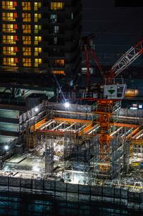 ビルの建築現場のイメージの写真素材 [FYI01250997]