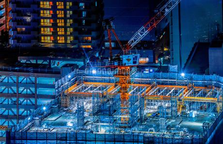 建設中のビルのイメージの写真素材 [FYI01251023]