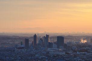 街に訪れた朝の写真素材 [FYI01251170]