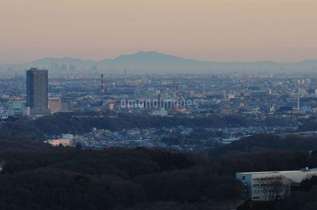 遠望 筑波山の写真素材 [FYI01251171]