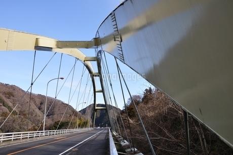 道志みちの橋 上野田大橋の写真素材 [FYI01251204]