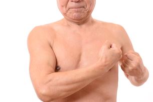 日本人シニアの健康な体の写真素材 [FYI01251261]