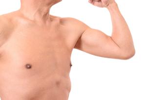 日本人シニアの健康な体の写真素材 [FYI01251267]