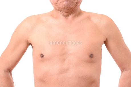 日本人シニアの健康な体の写真素材 [FYI01251270]