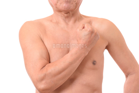 日本人シニアの健康な体の写真素材 [FYI01251273]