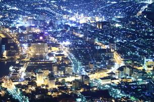 函館夜景の写真素材 [FYI01251307]