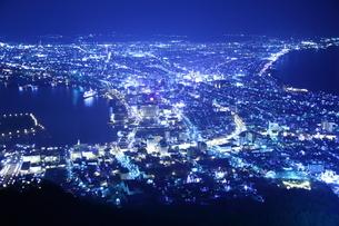 函館夜景の写真素材 [FYI01251308]