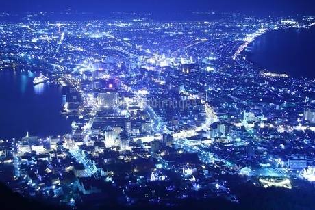 函館夜景の写真素材 [FYI01251309]