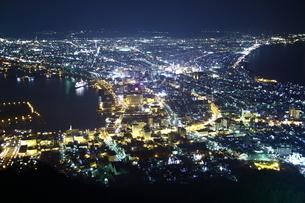 函館夜景の写真素材 [FYI01251310]