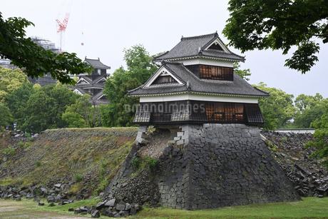 震災の熊本城の写真素材 [FYI01251315]