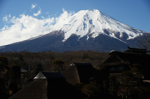 忍野からの富士山の写真素材 [FYI01251322]