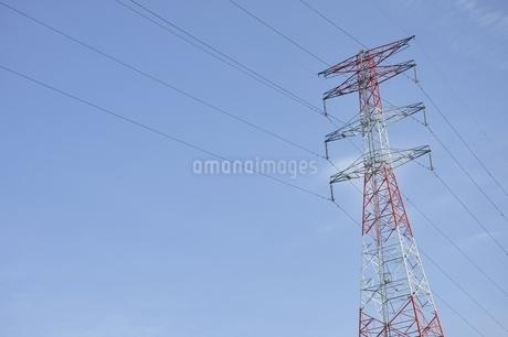 紅白の鉄塔の写真素材 [FYI01251402]