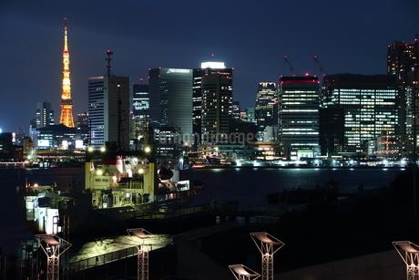 晴海夜景の写真素材 [FYI01252122]