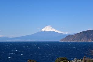 駿河湾からの富士山の写真素材 [FYI01252245]