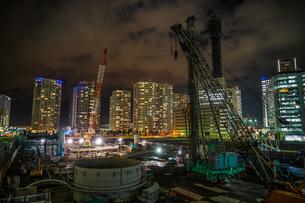 みなとみらいの工事現場のイメージの写真素材 [FYI01252254]