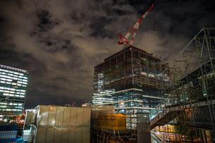 みなとみらいの建設中のビルのイメージの写真素材 [FYI01252258]
