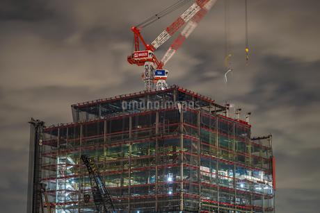 みなとみらいの建設中のビルのイメージの写真素材 [FYI01252263]