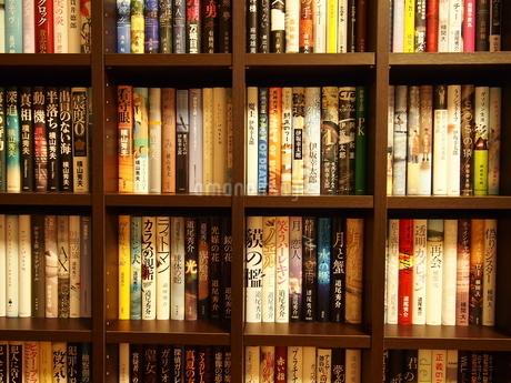 小説の本棚3の写真素材 [FYI01252402]
