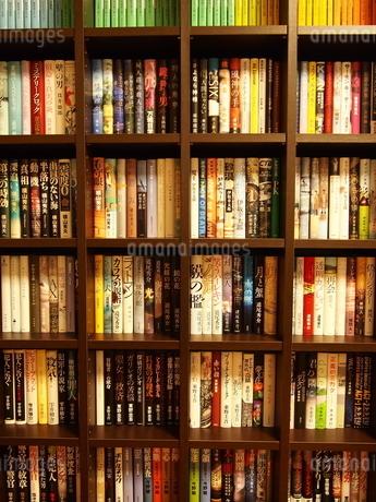 小説の本棚4の写真素材 [FYI01252403]
