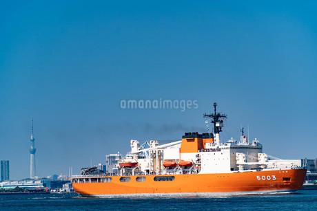 南極観測船『しらせ』の写真素材 [FYI01252623]