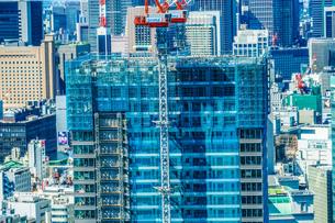 建設中のビルのイメージの写真素材 [FYI01253152]