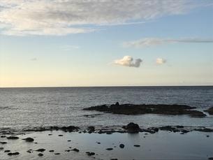 知床の海の写真素材 [FYI01253562]
