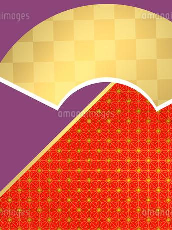 和柄 和柄背景 日本 和風 和風背景 市松模様 和の背景 和室のイラスト素材 [FYI01253615]