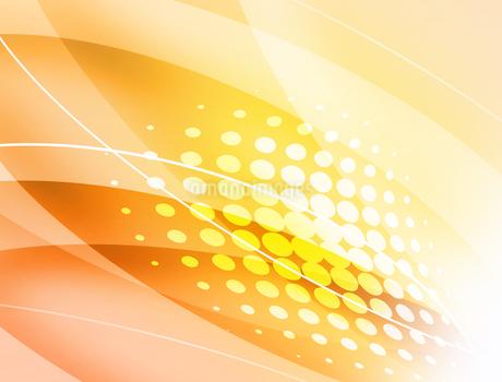 抽象的 模様 紋様 アブストラクト 曲線模様 フレームのイラスト素材 [FYI01253815]