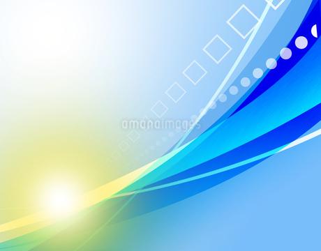 抽象的 模様 紋様 アブストラクト 曲線模様 フレームのイラスト素材 [FYI01253817]