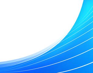 抽象的 模様 紋様 アブストラクト 曲線模様 フレームのイラスト素材 [FYI01253818]