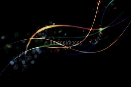 光のアブストラクトCGイメージの写真素材 [FYI01254314]
