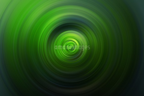 緑の渦巻きのCG背景素材の写真素材 [FYI01254323]