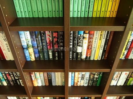 小説の本棚10の写真素材 [FYI01254397]