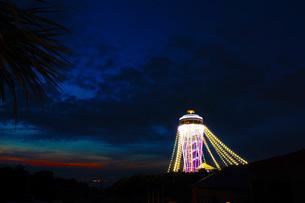 江ノ島シーキャンドルの写真素材 [FYI01254461]