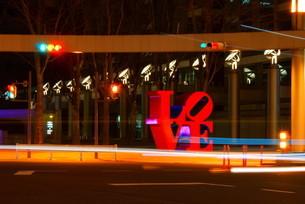 LOVEオブジェの写真素材 [FYI01254528]