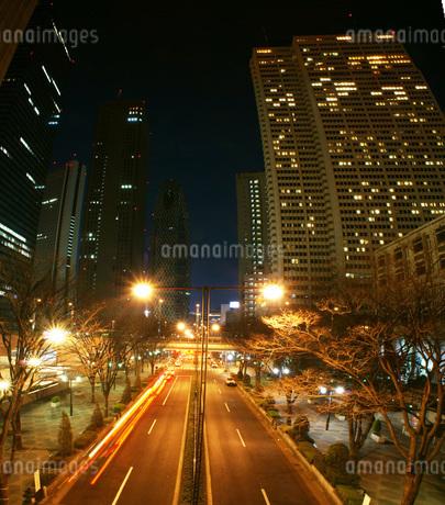 新宿の夜景の写真素材 [FYI01254567]