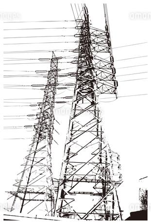 鉄塔のイラスト素材 [FYI01254676]