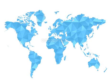 世界地図 ビジネス背景 日本地図 地図 グローバル ワールド のイラスト素材 [FYI01254742]