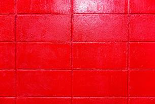 赤色の壁の写真素材 [FYI01254847]