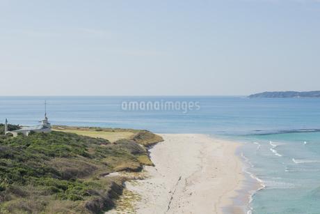 海沿いの写真素材 [FYI01255192]