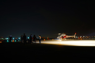ヘリポートイメージの写真素材 [FYI01255239]
