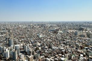 東京下町の街並みの写真素材 [FYI01255260]
