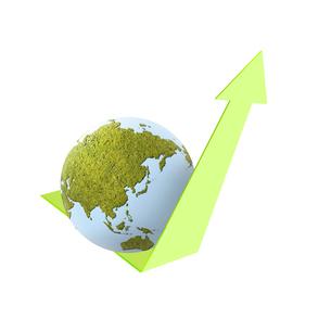 エコロジー 環境 自然 低炭素社会 環境破壊 水問題 水不足 エコのイラスト素材 [FYI01255282]