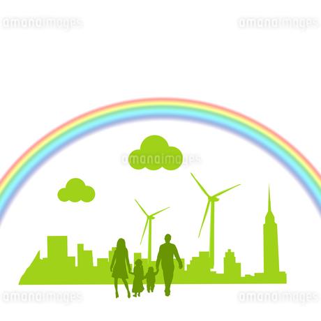 エコロジー 環境 自然 低炭素社会 環境破壊 水問題 水不足 エコのイラスト素材 [FYI01255284]