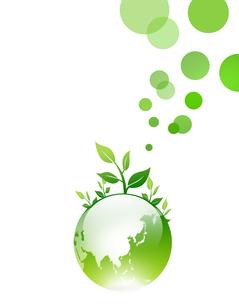 エコロジー 環境 自然 低炭素社会 環境破壊 水問題 水不足 エコのイラスト素材 [FYI01255287]