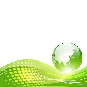 エコロジー 環境 自然 低炭素社会 環境破壊 水問題 水不足 エコのイラスト素材 [FYI01255288]
